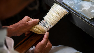 Discovering Anhui: painting better-off life with traditional ink brush
