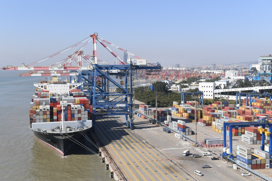 China's Xiamen port registers 1,000 Silk Road Shipping voyages in 2021_01.jpg